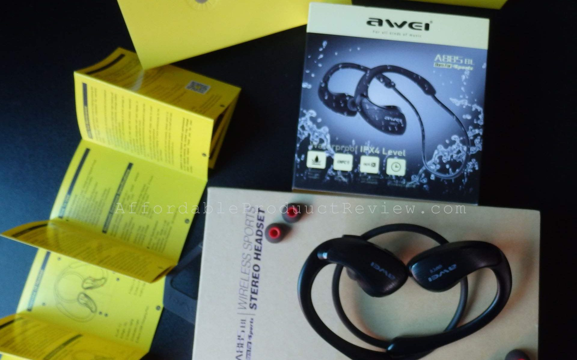 Awei 885BL Bluetooth Earphones